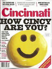 Cincinnati Magazine February 2014 How Cincy Are You?/Goetta/Cornhole/Chili Stain