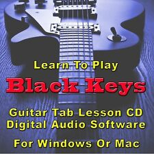BLACK KEYS (THE) Guitar Tab Lesson CD Software  20 Songs
