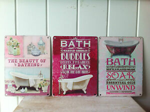 NEW-BATHROOM-VINTAGE-RETRO-METAL-SIGN-FOR-LOO-TOILET-WALL-HANGING