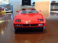 1:18 Diecast 1989 Ferrari 348 Convertible Top Up By Mira RARE