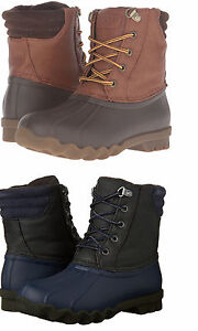 SPERRY-CANARD-Enfants-impermeable-hiver-double-Mucker-neige-bottes-taille-12-6