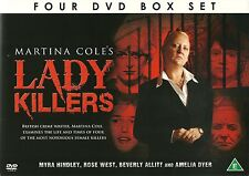 MARTINA COLE'S LADYKILLERS 4 DVD BOX SET  MYRA HINDLEY ROSE WEST & MORE