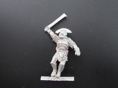 2019 Moda Warhammer Lord Of The Rings Lotr - Uruk-hai Captain Pose 2 Metal Oop Ridurre Il Peso Corporeo E Prolungare La Vita