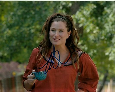 Gentle Kathryn Hahn Hand-signed Our Idiot Brother 8x10 Closeup W/ Uacc Rd Coa In-person Photographs