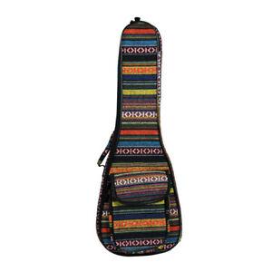 23-Inch-Ukulele-National-Wind-Color-Bag-with-Shoulder-Belt-for-Mini-Guitar-Ukule