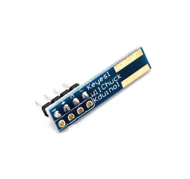 10PCS WiiChuck Nunchuck Adapter Shield Module I2C PCB Board f// Arduino Raspberry