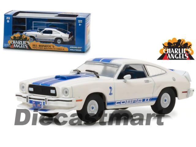 CHARLIE'S Ángeles Jill MUNROE 1976 Ford Mustang Cobra II 1:43 Luz Verde 86516