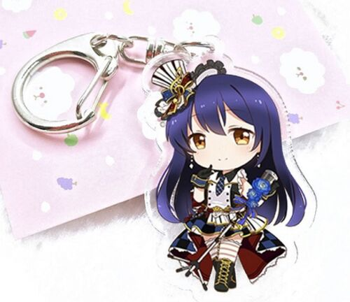 Love Live Umi chibi anime acrylic Keychain Key Ring