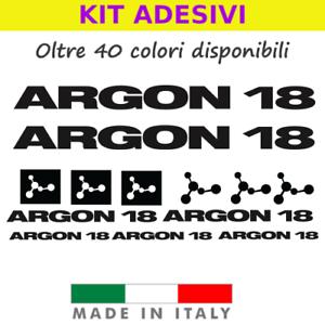 show original title Various Sizes Stickers LOGO Details about  /2 x Argon 18 Stickers Weatherproof