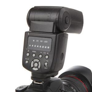 Wansen WS560 Flash Speedlite light For Canon 750D 650D 550D