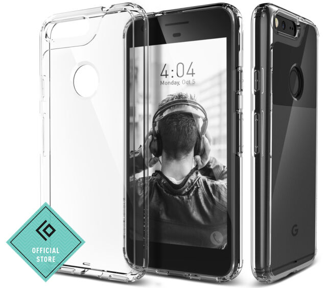 newest 501e4 1ea0b Google Pixel Case Caseology Waterfall Series Slim Clear Transparent