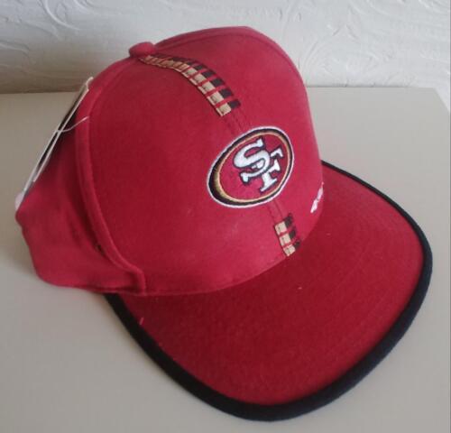 San Francisco 49/'ers Strap Back Adjustable Baseball Cap by Logo Athletics New w