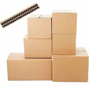 20 new extra large double wall cardboard moving boxes. Black Bedroom Furniture Sets. Home Design Ideas