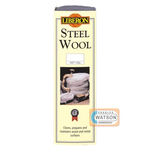 LIBERON 250g 0000 ULTRA FINE GRADE STEEL WIRE WOOL High Quality Non Crumble