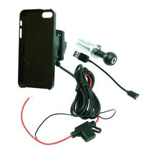 Hardwire Powered 13.3-14.7mm Bike Stem Mount & TiGRA mountcase pour iPhone SE