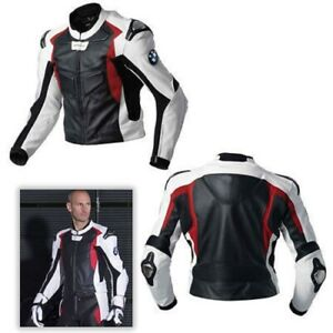 BMW-Men-Motorcycle-Jackets-Biker-Racer-Leather-Motorbike-Sports-Armor-Protective