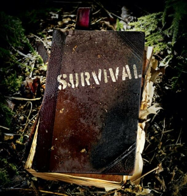 Wilderness Survival Guides Survival Books - First Aid, Food, Medical, Plants,go
