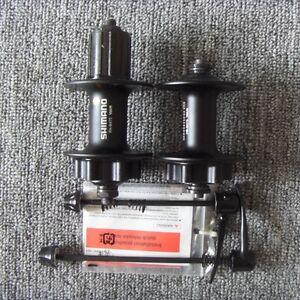 SHIMANO FH-M475 FB-M475 Disc Brake Hub F/&R 32H w//2pcs Skewers GIANT-770 Hub