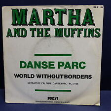 MARTHA AND THE MUFFINS Danse parc PROMO DB 61139