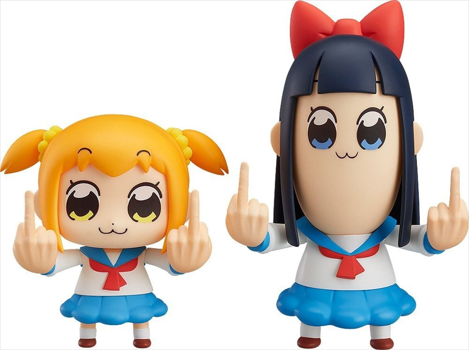 Good Smile Company Nendoroid POP TEAM EPIC Popuko & Pipimi SetFigure w/ benefits