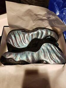 Nike Black Prm Foamposite 10 o One Abalone Tama 12 Aurora 10 Green usado Air Nunca HrwRxH1A