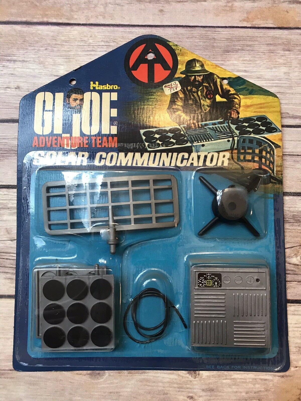 Gi Joe Vintage comunicador solar de 1972 equipo de aventura en Embalaje Original