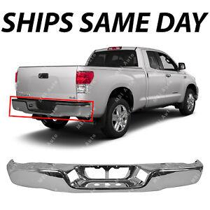 NEW Chrome - Steel Rear Bumper Shell Face Bar for 2007-2013 Toyota Tundra 07-13