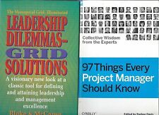 2 Business Books! Leadership Dilemmas - Grid Solutions & 97 Things Every Project