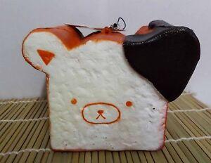 Rilakkuma Squishy Loaf Of Bread : Brand New Giant Size Kawaii Rilakkuma Loaf of Bread Squishy Rare Charm Scented eBay