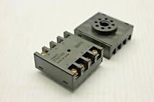 P3GA-11 Socket PIN11 6A 250VAC Mounting on panel OMRON