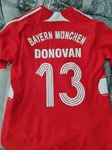new style 69ea1 7b35e Details about *Bayern Munich Munchen USA Soccer Jersey Shirt Landon Donovan  MLS Ultra Rare*