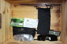 New Black Sawfly Revision Military Goggles Eyewear w Lenses & Case Set Kit, Reg