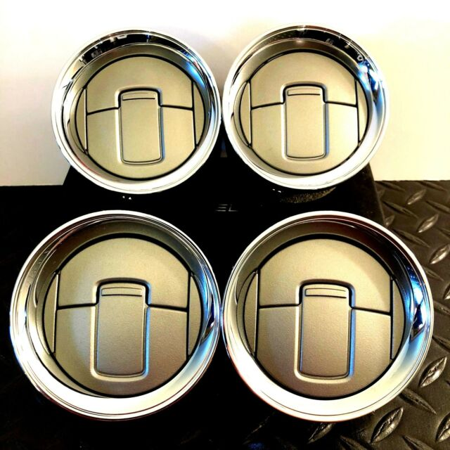 F-150 Heat AC Dash Vents Bezels Air Conditioning Chrome 2009-2014 Ford Pickup x4