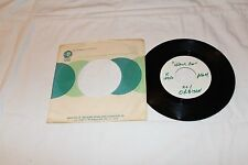 Roy Orbison 45 Test Pressing with Original Record Company Sleeve-WALK ON
