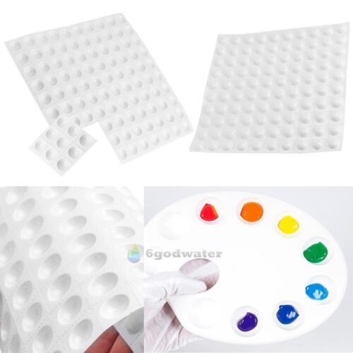 5pcs Art Alternatives Paint Tray Artist Watercolor Plastic 100 Holes Palette New