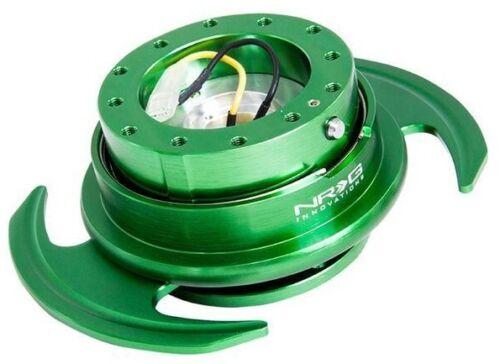 NRG BALL LOCK QUICK RELEASE GEN 3.0 GREEN BODY// GREEN PADDLE SRK-650GN