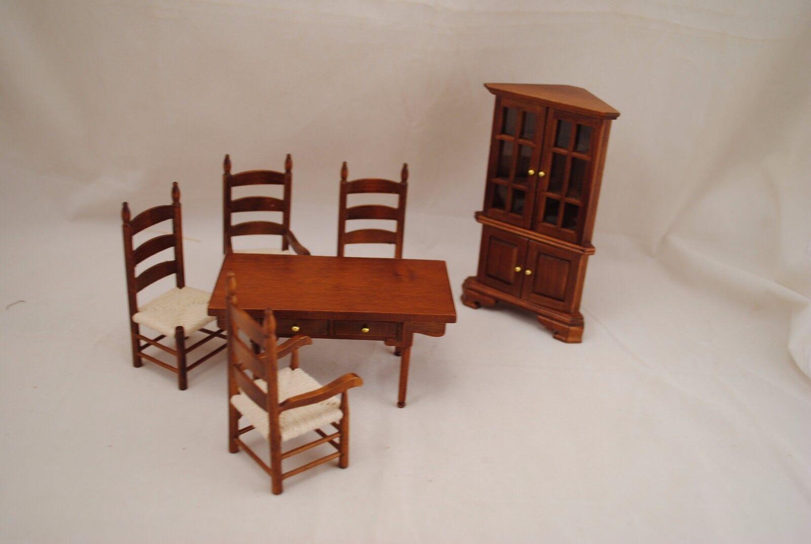 Cocina   Comedor Set-Nuez-t6039 Dollhouse Miniatura De 6 Piezas 1 12 Scale