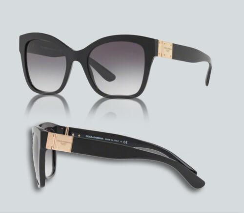 Authentique Dolce /& Gabbana 0 DG 4309 501//8 G Noir Lunettes de soleil
