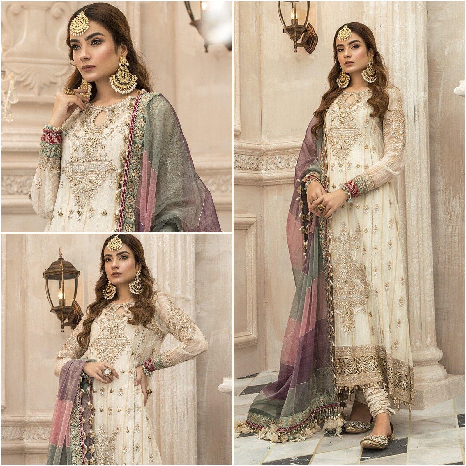 Pakistani Maria B Designer Suits Wedding Dress Collection Shalwar Kameez Bridal