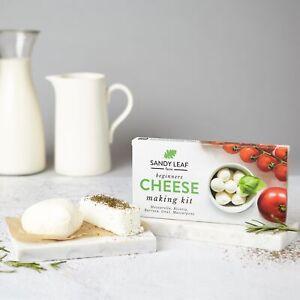 Beginners Cheese Making Kit - Make Your Own Mozzarella, Ricotta, Goat, Burrata