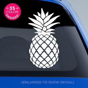 Happy-Pineapple-Vinyl-Decal-for-Car-windows-mugs-glasses-walls-sticker