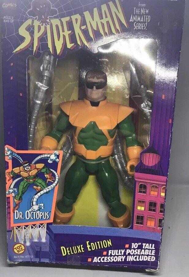 1996 Juguete Biz Spiderman Edición de Lujo Dr. Octopus Figura de 10    Sellado de fábrica