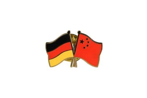Deutschland China Flaggen Pin Fahnen Pins Fahnenpin Flaggenpin Anstecker
