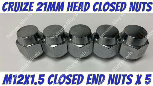 Alloy Wheel Nuts 21mm Head x 5 M12x1.5 Mazda 121 323 626 929 Bongo CX-3 CX-5