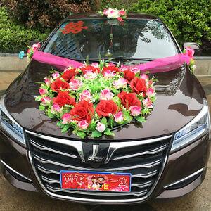 Car flower wedding car decoration korean decoration suits image is loading car flower wedding car decoration korean decoration suits junglespirit Gallery