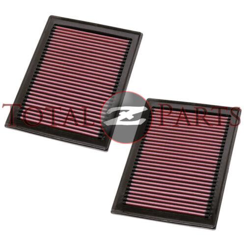 K/&N Two Air Intake Filters for Infiniti FX35 FX37 FX50 Q50 M56 Q60 Q70 QX70 M56