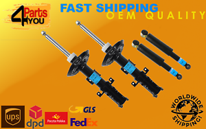 4x Front Rear Shock Absorbers DAMPERS MERCEDES W639 VITO MIXTO VIANO 2003