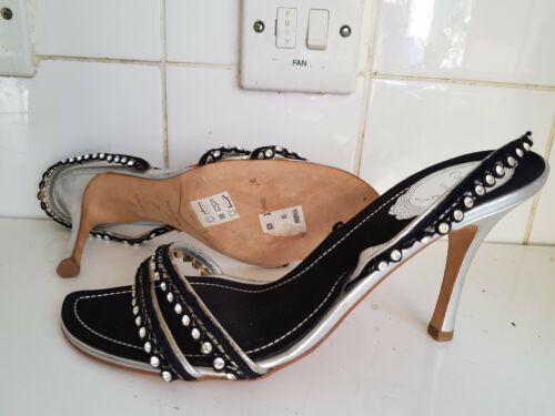 Designer Rene con Caovilla 6 Size Womens 39 Uk tacchi Eu Black Sandali speciali WrYwrdvq