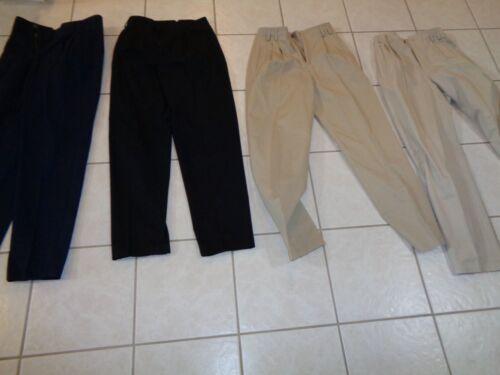 Bukser Lizsport Størrelse 4 Liz Sort Lot Claiborne Tan Navy Slacks n4v4xR