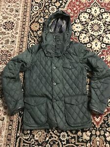 BARBOUR-LIMITED-EDITION-BY-TOKITO-MENS-QUILTED-JACKET-COAT-SIZE-UK-M
